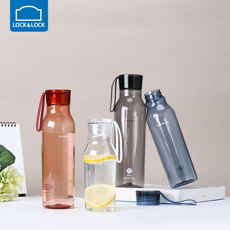 【乐扣乐扣】Tritan塑料杯便携男女式小口提手杯子ABF663BLU/ABF644BLU/ABF664BLU
