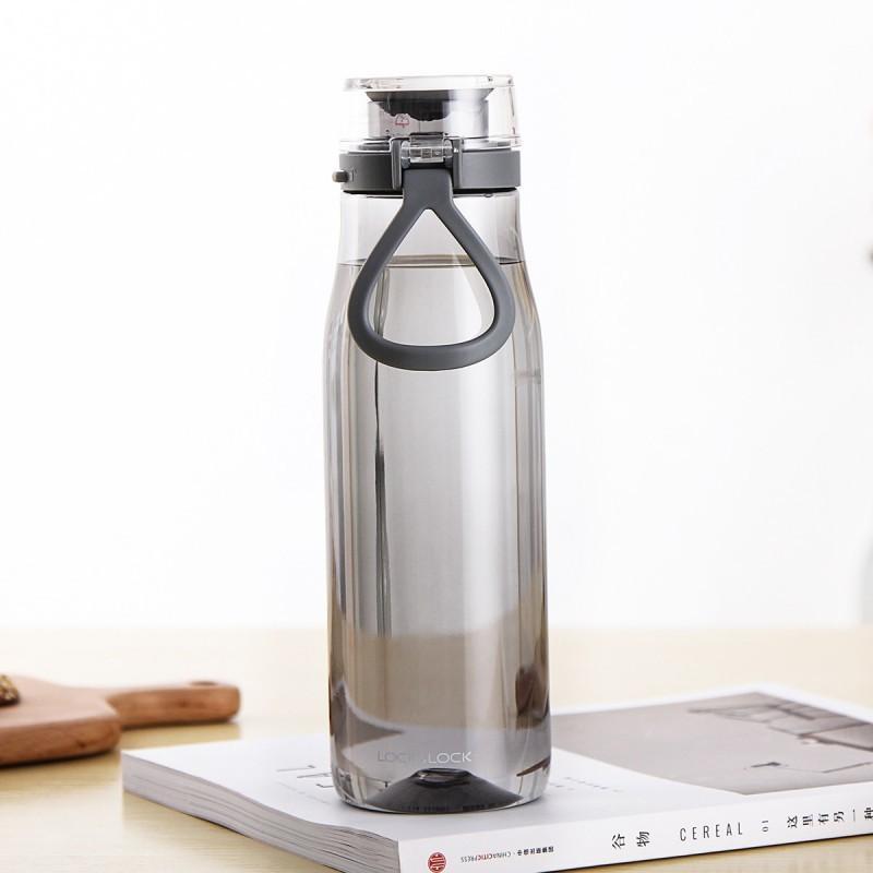 【乐扣乐扣】 夏季塑料水杯便携防漏户外运动健身水壶ABF684GRN/ABF685GRN