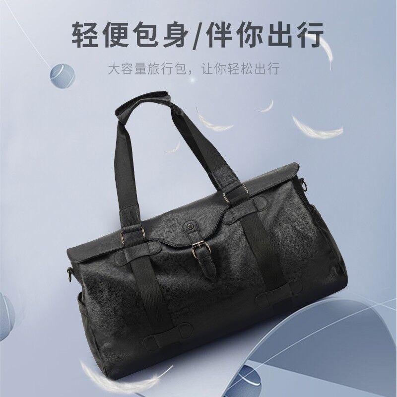 【恒源祥】商务旅行包大容量手提包时尚简约手提包黑色HYX0543