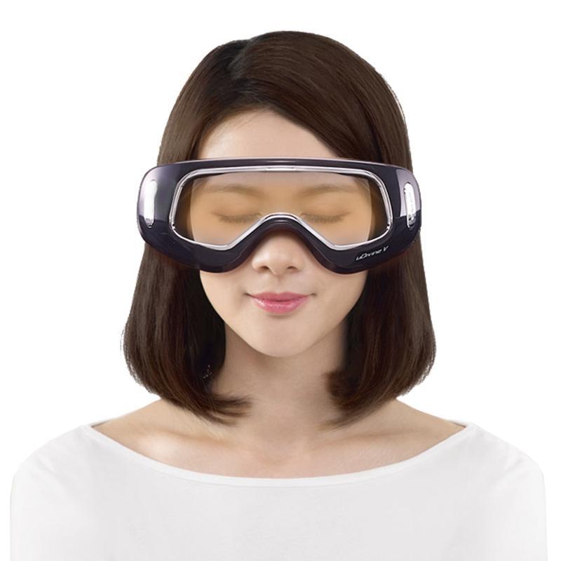 【傲胜】眼部按摩器护眼仪眼保仪眼部眼罩按摩器气压热敷黑色A890