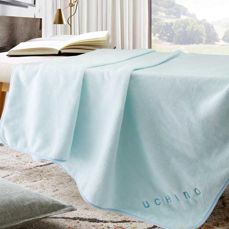 【内野】UCHINO日本内野法兰绒毯保暖毛毯办公家用舒适柔软JD10001-N