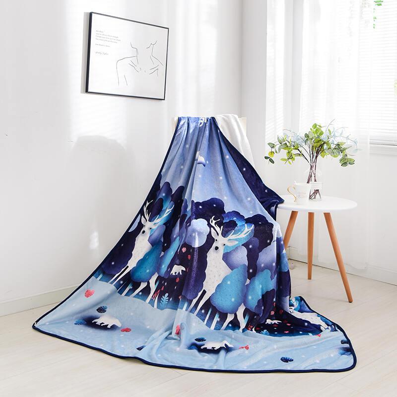 【维科】维科家纺VEKEN莱卡绒生活毯150×200cmVKM-203501