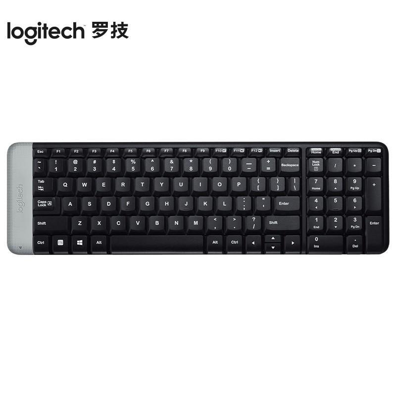 【罗技】无线键盘优联笔记本台式电脑键盘无线迷你键盘 K230