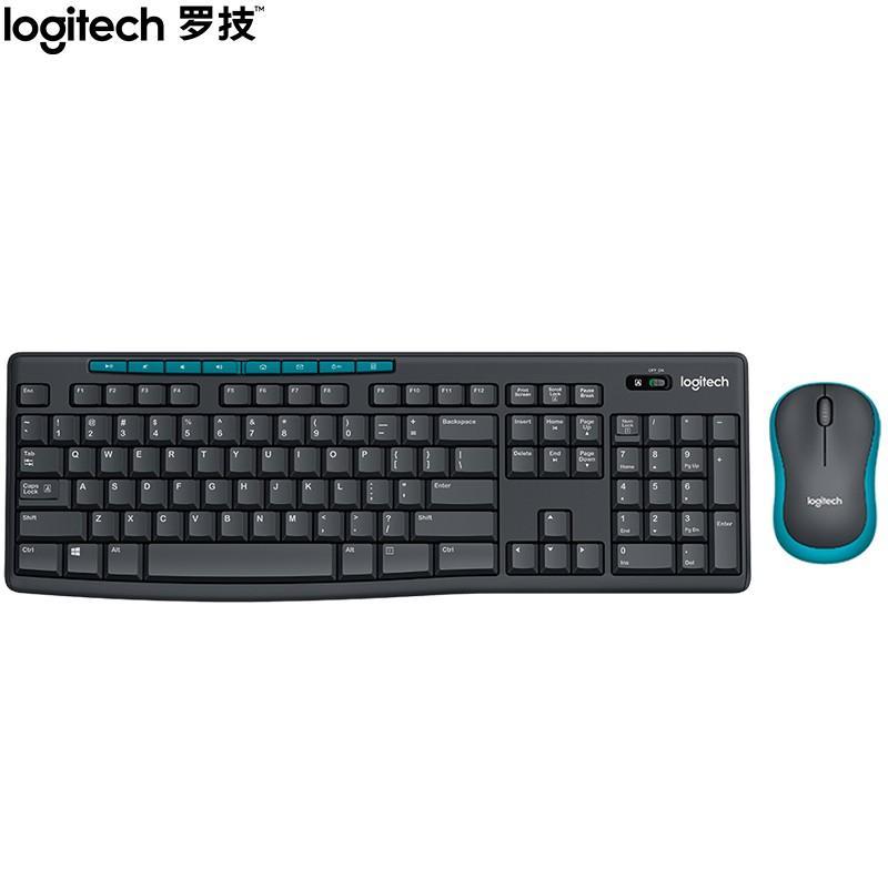 【罗技】无线光电键鼠套装无线鼠标无线键盘套装 MK275