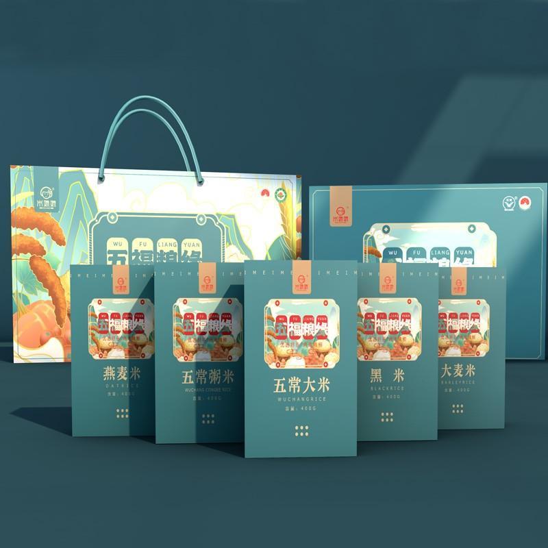 【米妹妹】东北杂粮精品选五福粮缘杂粮礼盒 2kg