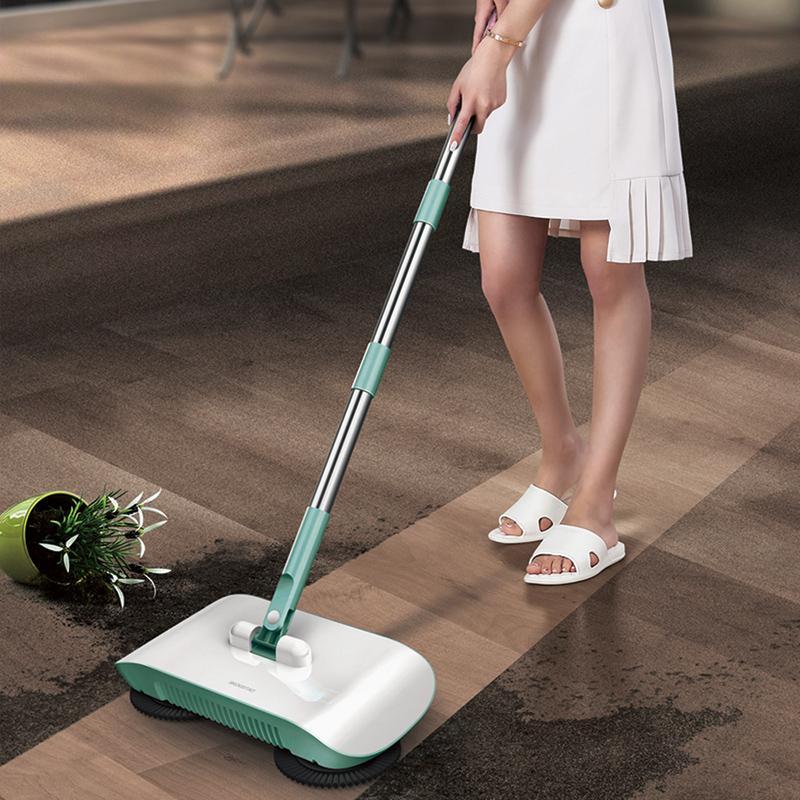 【思嘉思达】手推便携扫地机扫把家用笤帚刮水拖地刮一体机器SKD-D0032