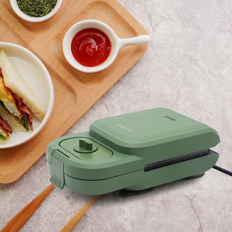 【思嘉思达】三明治轻食机家用早餐机双面压烤机烤面包机SKD-K0030