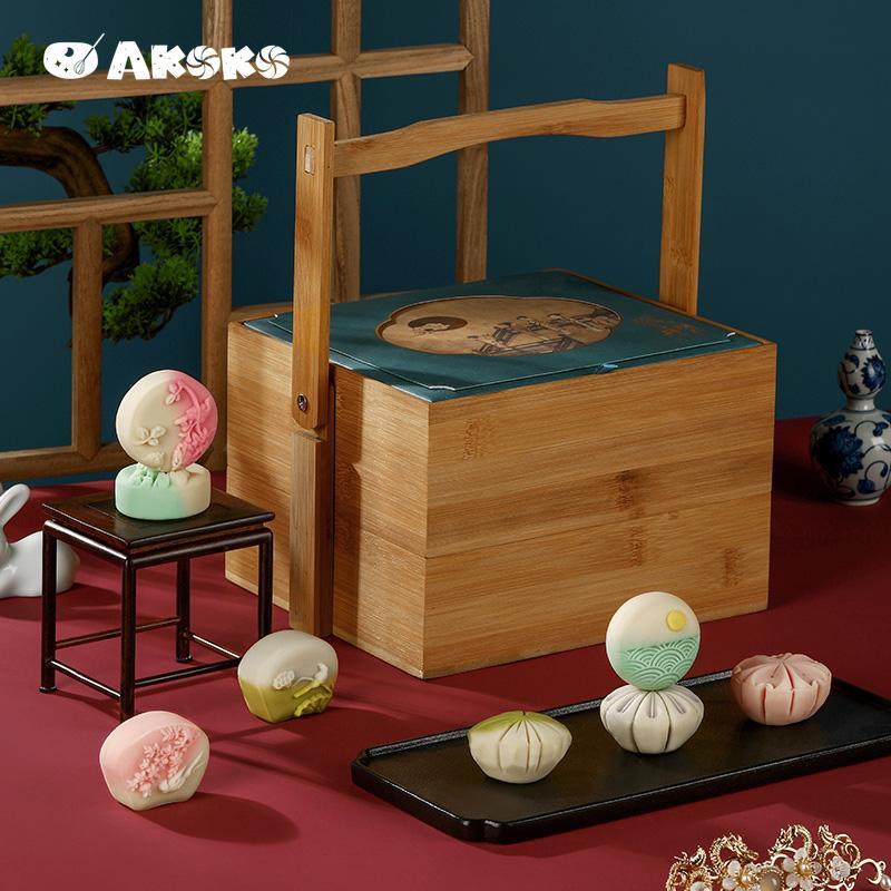 【AKOKO】中秋节月饼瑶台升明月中秋礼盒送礼月饼
