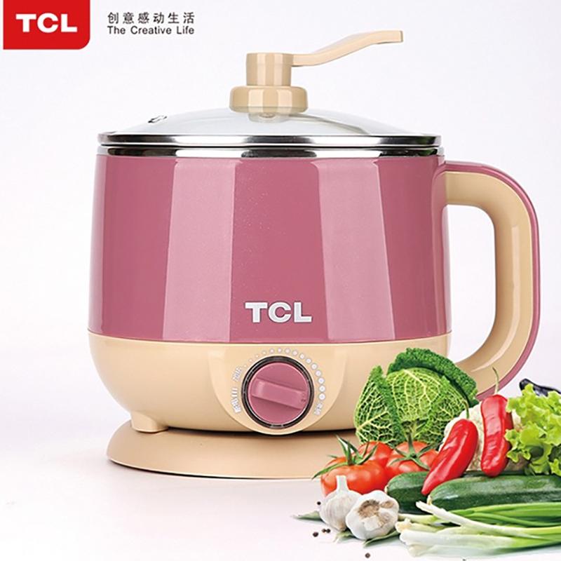 【TCL】魅爱美食锅家用办公室便携电煮锅TA-WS15F