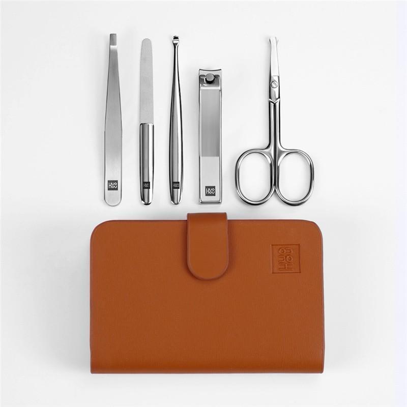 【火候】家用不锈钢材质指甲钳指甲刀指甲剪不锈钢指甲刀套装 HU0061