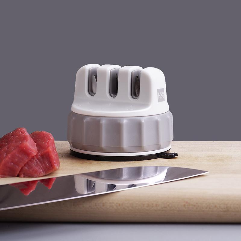 【火候】迷你磨刀器快速磨刀石家用菜刀厨房用品磨棒磨剪刀磨刀 HU0066