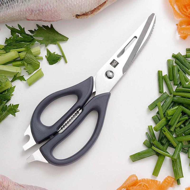 【火候】多功能厨房剪刀鸡骨剪厨房家用剪肉刮鱼鳞夹坚果 HU0062
