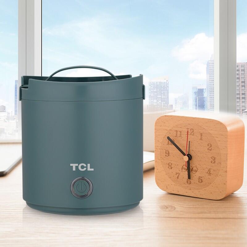 【TCL】小柴玲珑煲电热饭煲家用办公室便携煮饭热菜TB-YP0210A