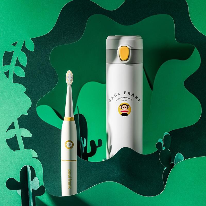 【大嘴猴】真空保温杯奥氏体型不锈钢保温杯茶杯牙刷套装 PFC758T