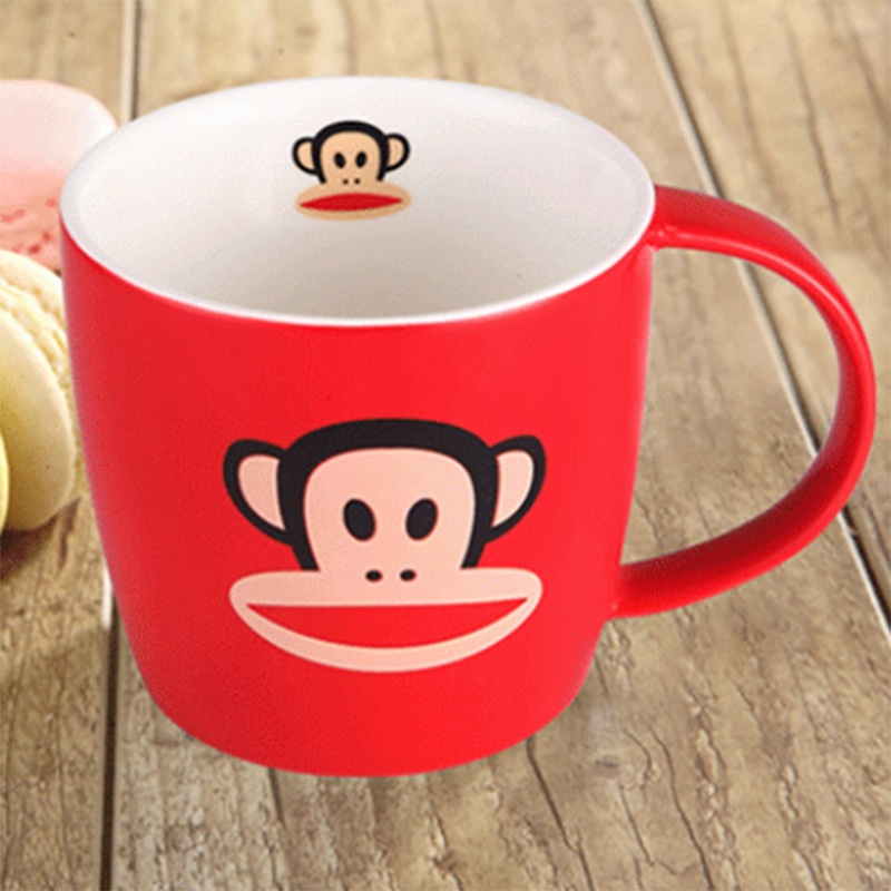 【大嘴猴】马克杯陶瓷杯果汁杯咖啡杯情侣杯水杯幸运星套装 PFC502T-1