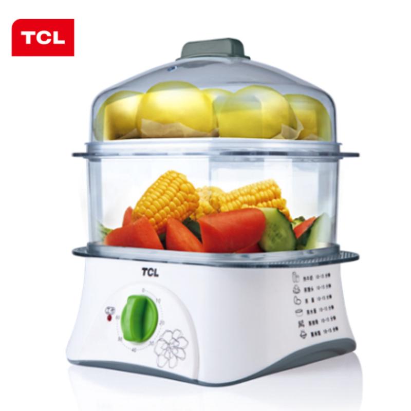 【TCL】原汁味营养蒸锅多用锅时尚便携小巧家用ZJ502A