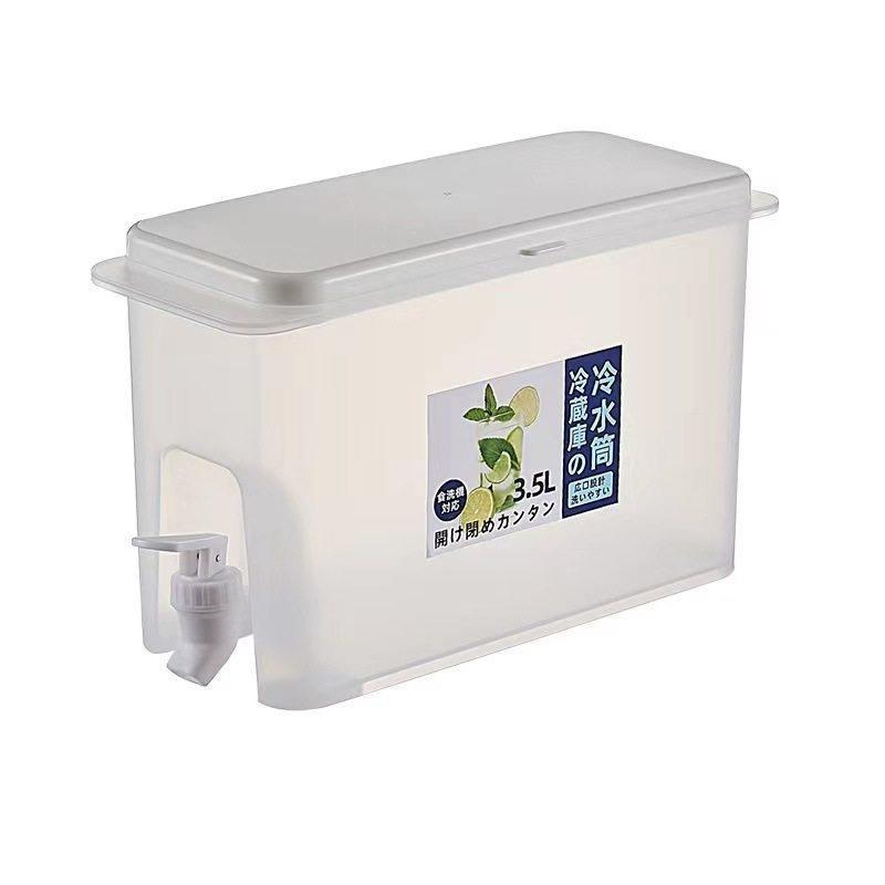 家用放冰箱冷水壶带龙头柠檬水果茶壶夏季冷饮桶现货冷泡瓶冷水桶