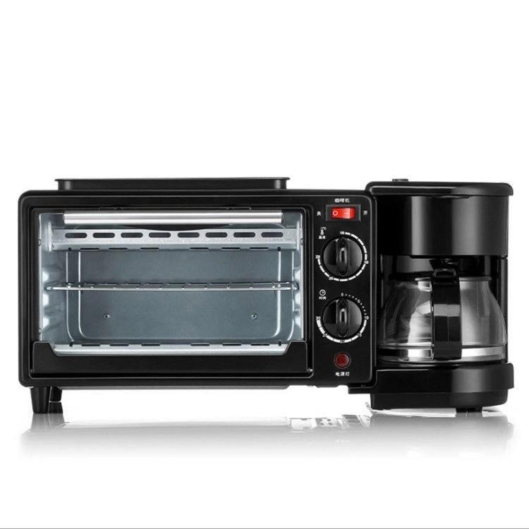 小霸王三合一早餐机家用办公咖啡机炉烘培机一体机