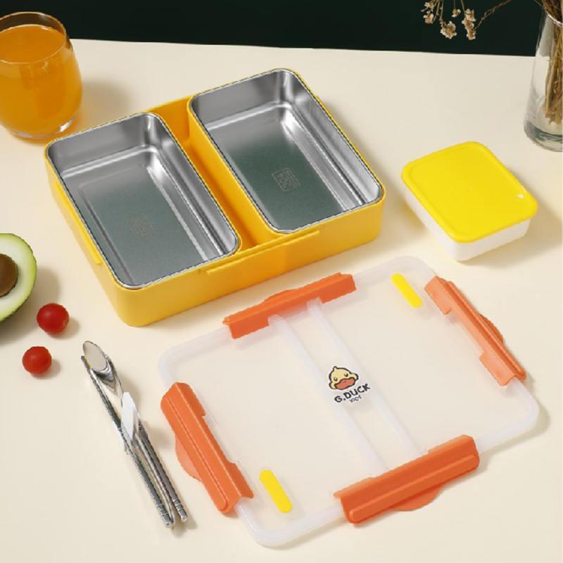 小黄鸭防串味餐盒多种颜色可选XHY0017