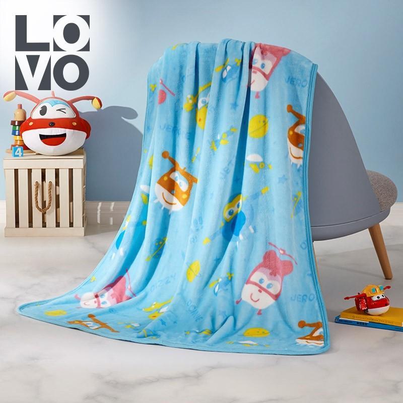 【罗莱家纺】LOVO毛毯超级飞侠毯子柔软舒适毛毯VSQ027