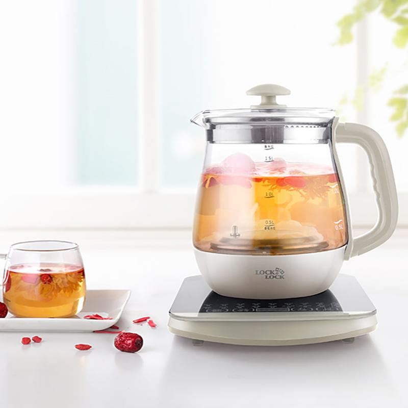 【乐扣乐扣】养生壶时尚美观大容量烧水壶煮茶壶EJC147WHT