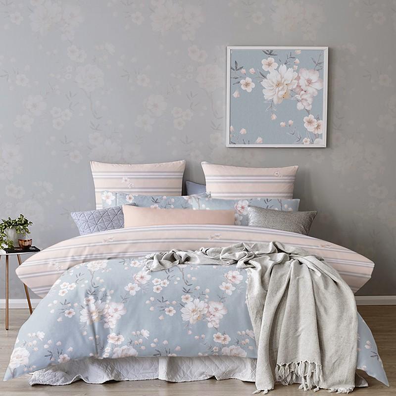 【罗莱家纺】LOVO尚品套件床上用品家纺四件套小镇情话VTT6742-4