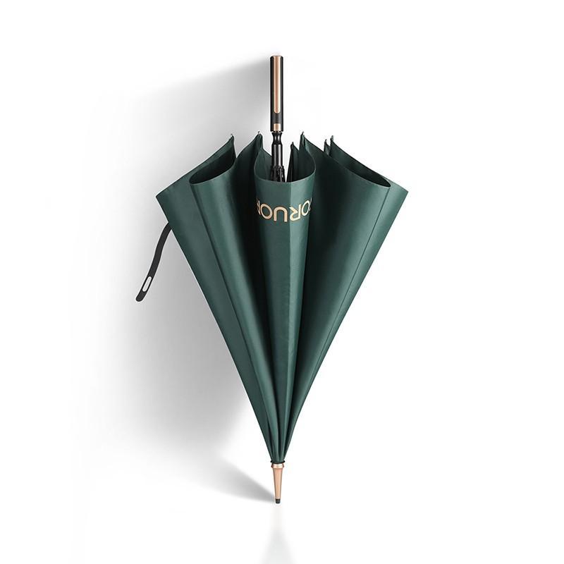 【FORUOR】绅士伞雨伞男色简约加固防抗风伞晴雨两用伞绅士气质 FU-HFI073
