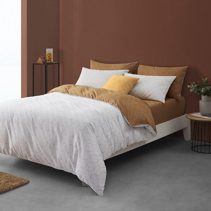 【鳄鱼】被套床单被罩简约枕套床上用品全棉四件套 LCCA001
