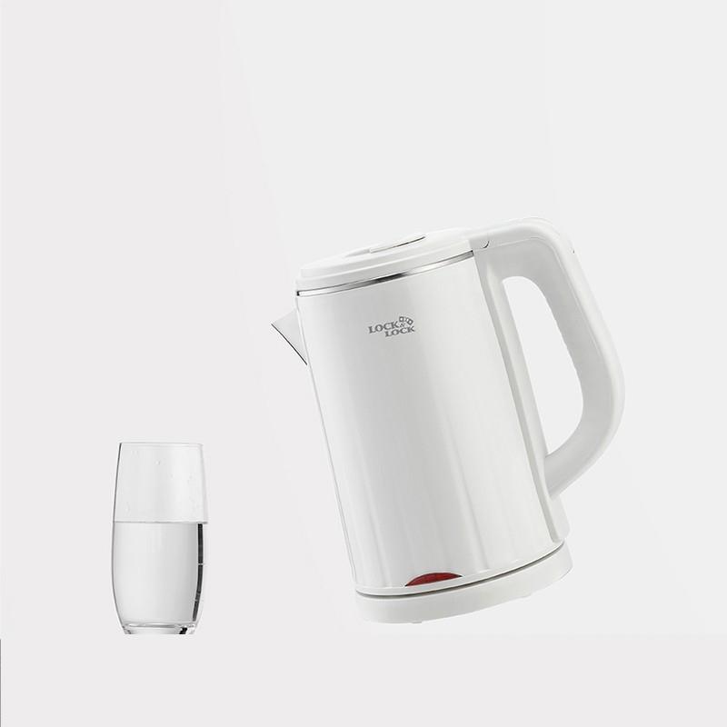 【乐扣乐扣】电水壶电热水壶304不锈钢烧水壶开水壶智能断电 EJK717WHT