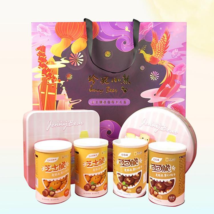 【珍妮小熊】公主甄选礼盒曲奇可可脆芝士奶酪脆