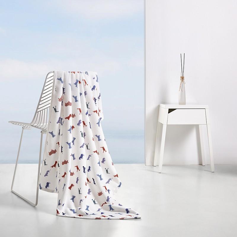 【馨亭】贝莱尔毛巾绒毯毛毯毯子办公室披肩毯小毯子盖腿午睡毯 MRT-013