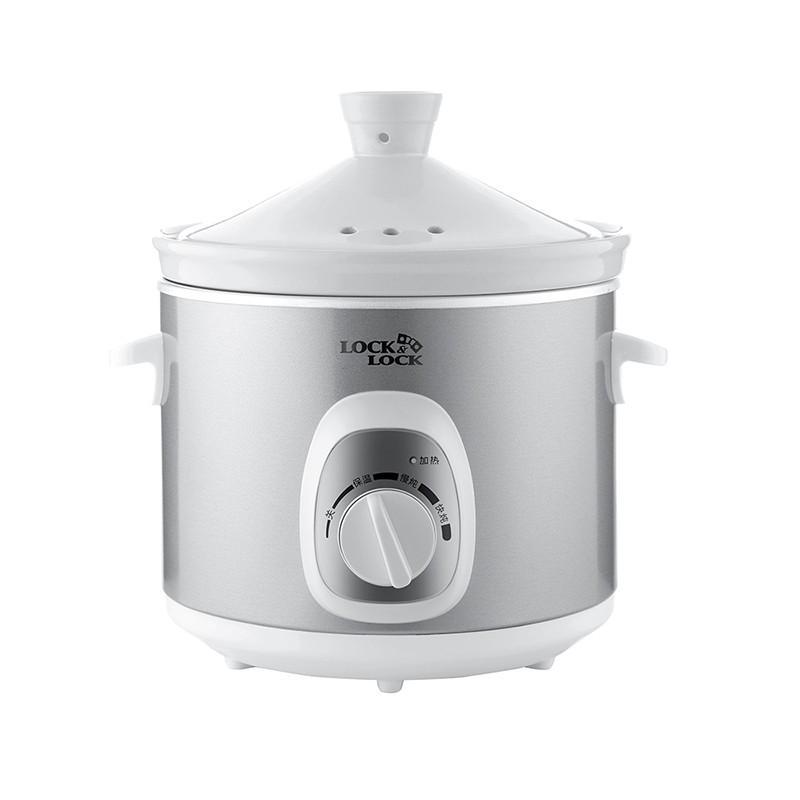 【乐扣乐扣】家用电炖锅电炖盅煲汤养生煲3L EJP137SLV