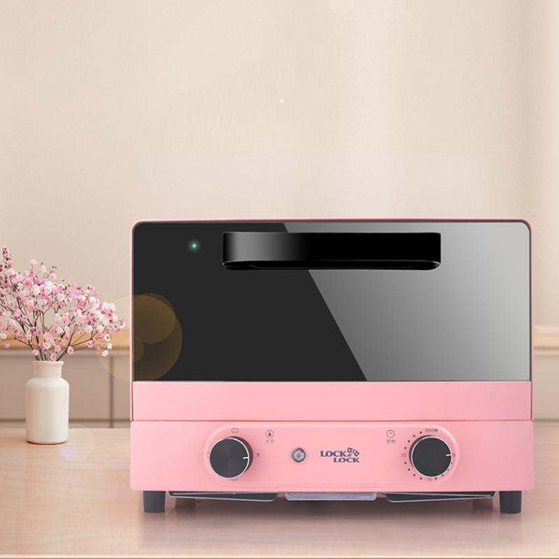 【乐扣乐扣】家用多功能迷你电烤箱智能小型烘焙烤箱 EJO427GRN/EJO427PIK