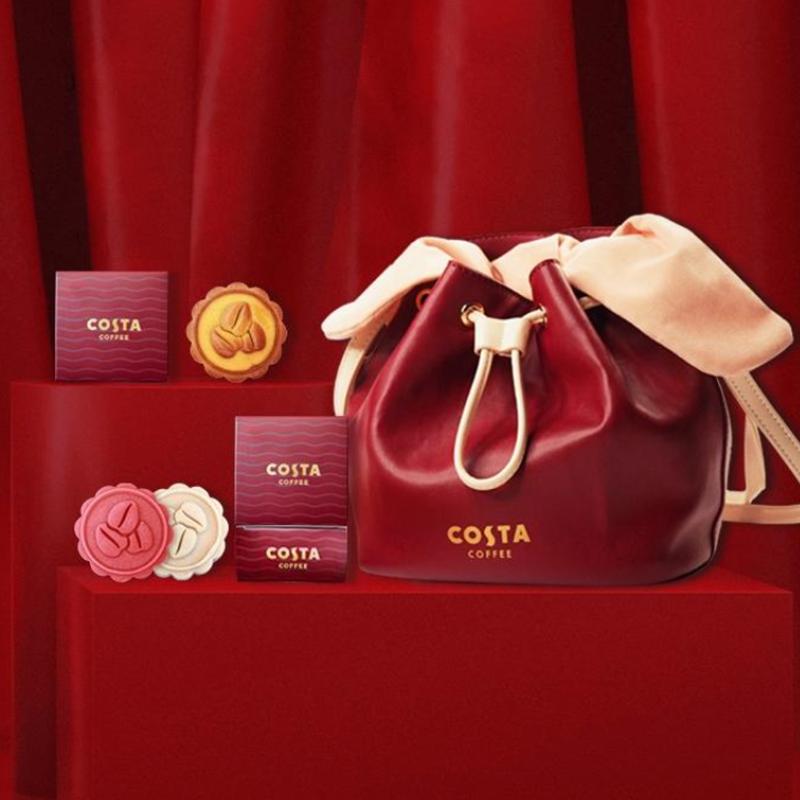 【costa】中秋月饼礼盒装多口味蛋黄莲蓉咖啡巧克力流心