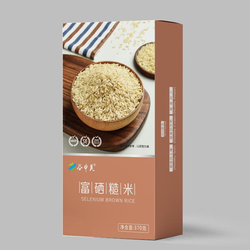 谷中美美味营养健康富硒糙米/红米/燕麦片