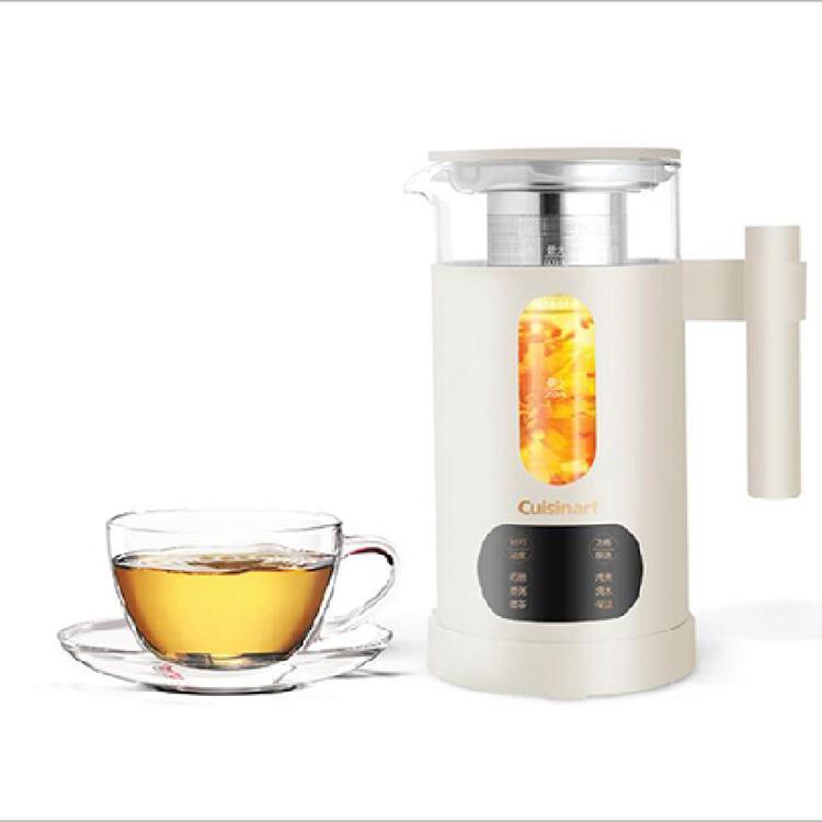 【美膳雅】花茶壶煮茶壶炖燕窝玻璃电热水壶养生壶 TEA-01TCN