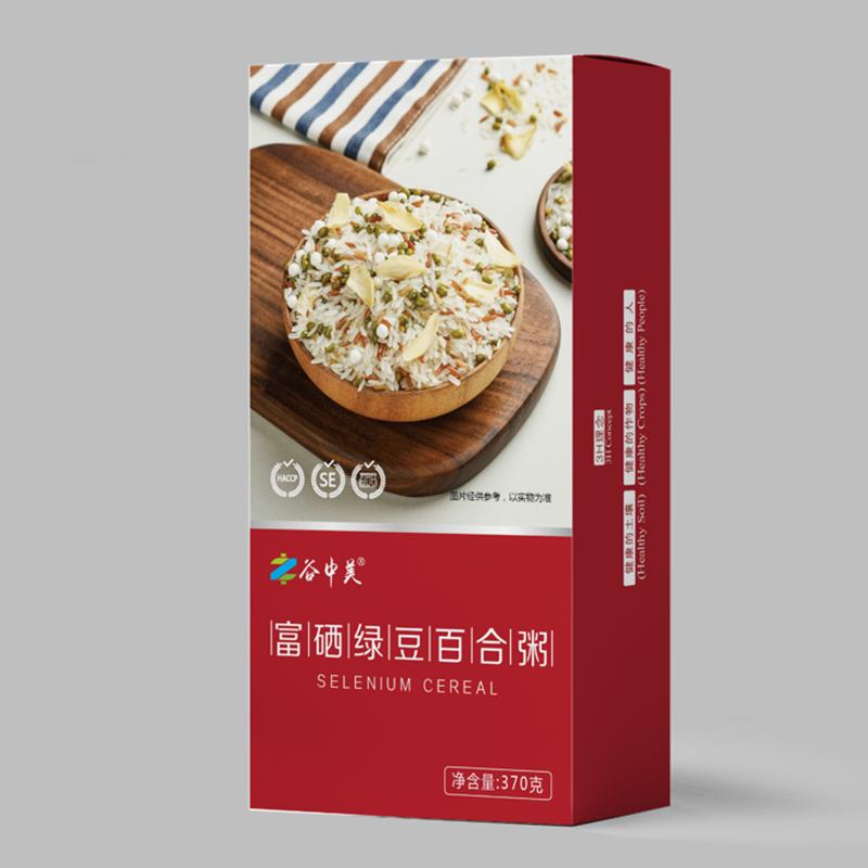 谷中美美味滋养富硒绿豆百合粥/红豆薏米粥