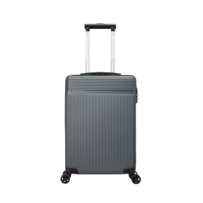 【美旅】商务休闲八轮旋转拉杆箱ABS行李箱时尚青灰色66/24 TX7*08002