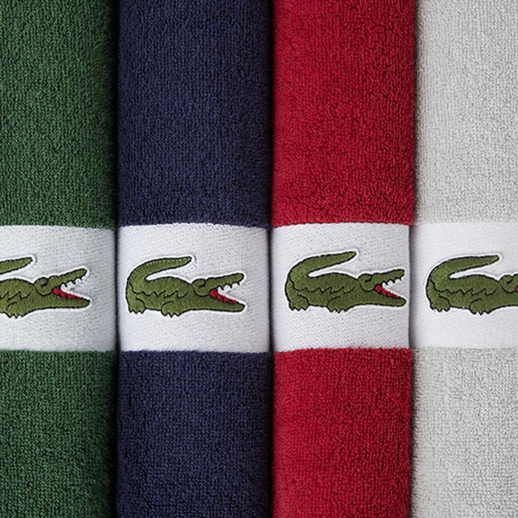 【鳄鱼】运动毛巾成人瑜伽健身跑步吸水毛巾单条 LCMJ-005/LCMJ-006