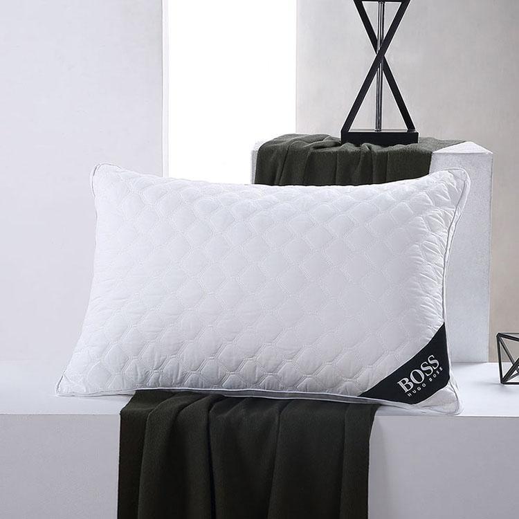 【HUGO BOSS】绗缝立体枕耐压枕头睡眠枕立体对枕 HBZX-011