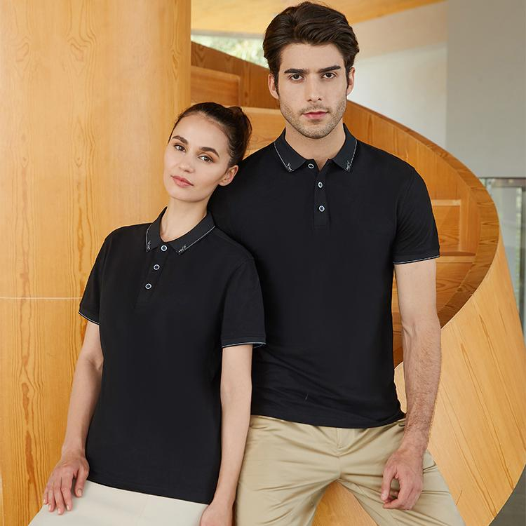 聚酯纤维闪电花短袖T恤HM-598
