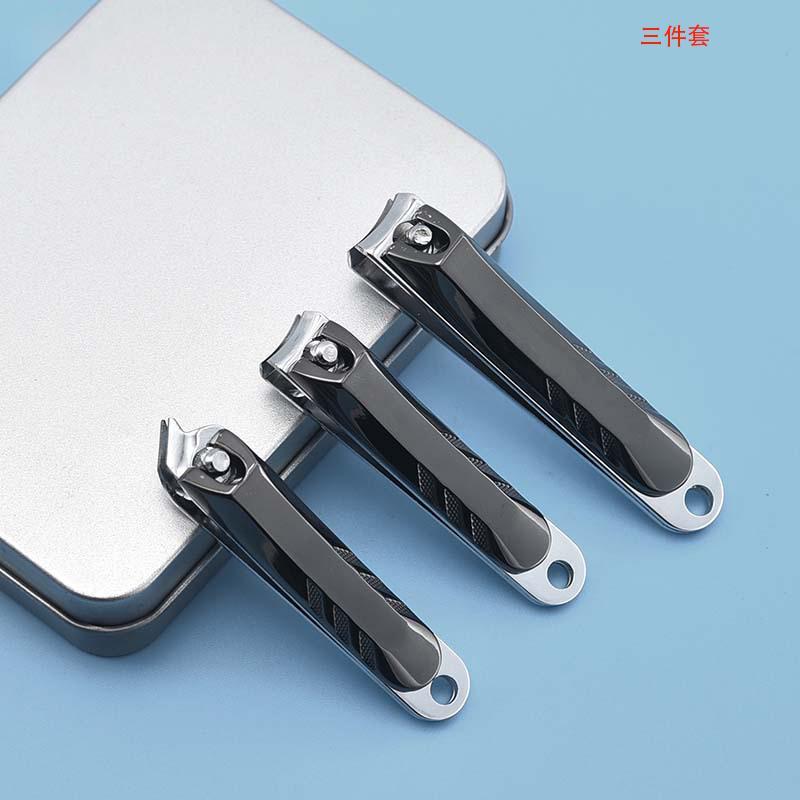 铁盒装压铸指甲钳用修剪指甲套装两件套CH –A2/三件套CH –A3