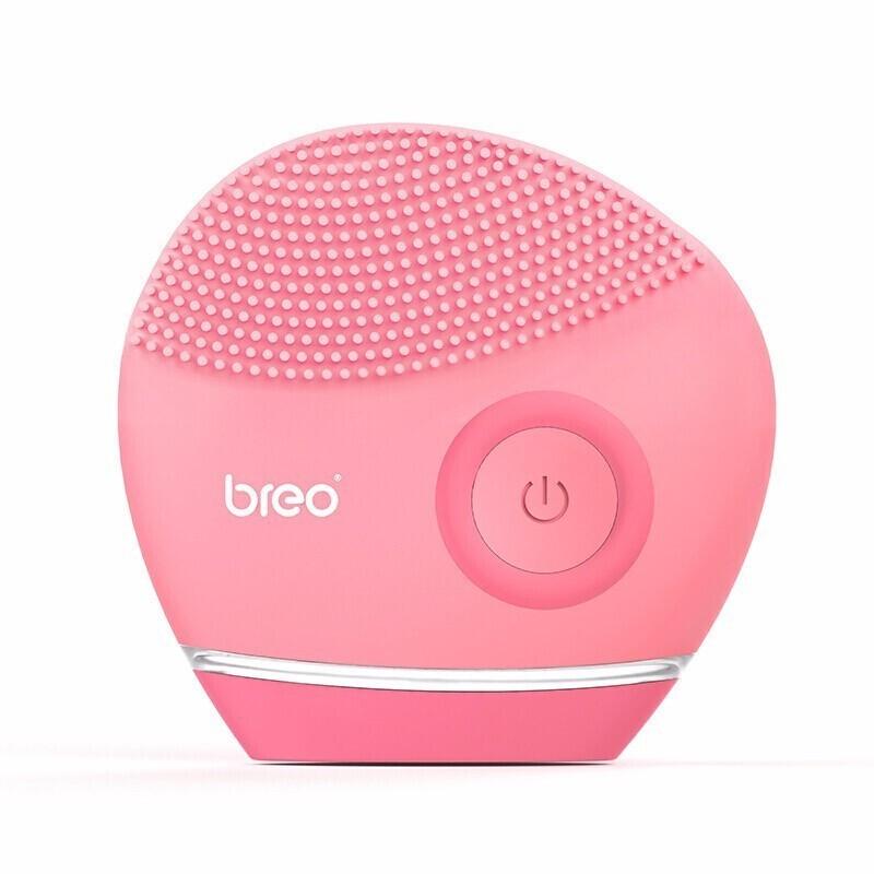 【倍轻松】电动洁面仪硅胶软毛洗面仪清洁器洁面刷新品 粉红色SC-172