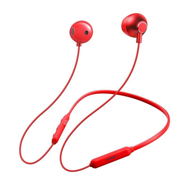 【沃品】wopow蓝牙运动耳机水滴形外观设计舒适不痛耳两侧磁吸BT26