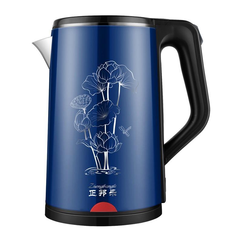 电热水壶家用食品级不锈钢防烫烧水壶保温热水壶HX-A5111