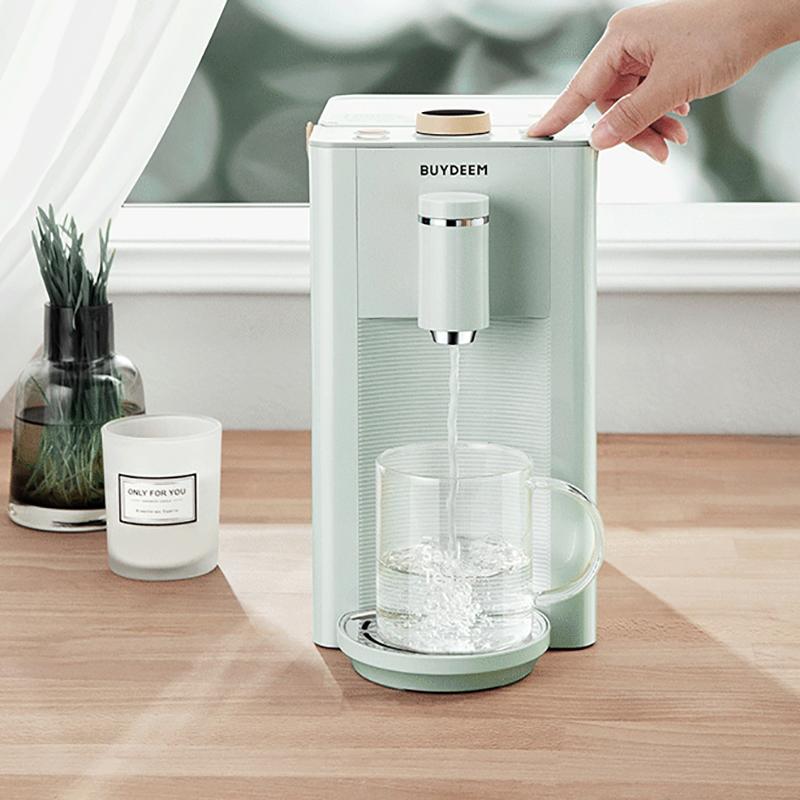 【北鼎】即热式饮水机恒温电热水壶瓶14段控温家用台式办公室智能小型迷你茶吧机S606/S607